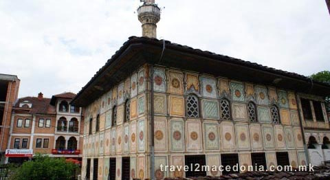 Painted mosque