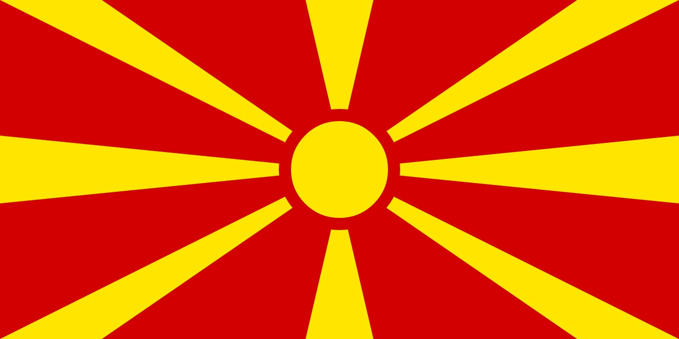 Macedonian national flag