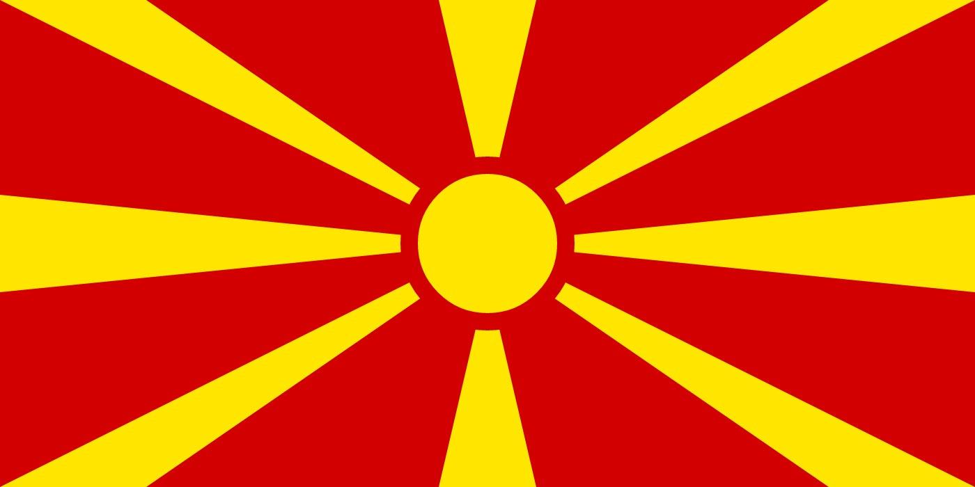 Macedonian national flag