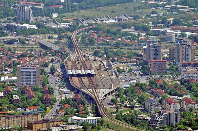 Skopje - train station