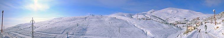 Popova Shapka - ski resort on Shar mountain