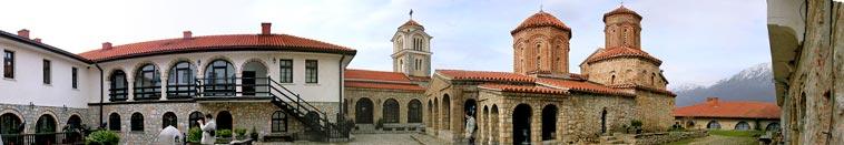 Saint Naum monastery - Ohrid lake